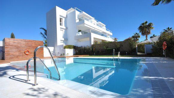 Jade Beach penthouse appartement op nog geen 300 meter van de zee en de boulevard van San Pedro