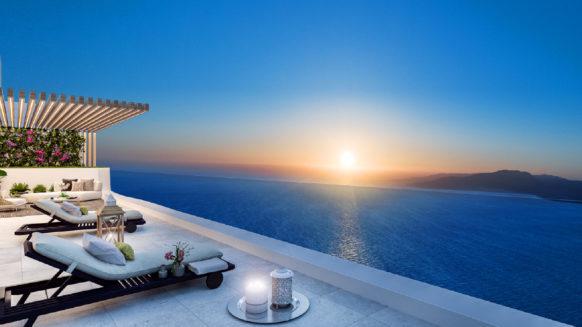 Penthouse in Alexia Life Estepona centrum met groot terras en privé zwembad met panoramisch zeezicht