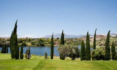 Benahavis apartments Tuscan garden