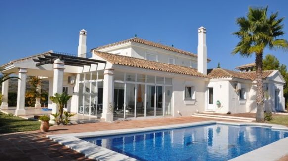 buy a villa in spain pool