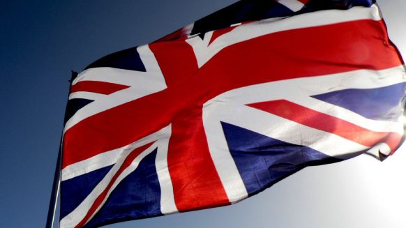 living in marbella british flag