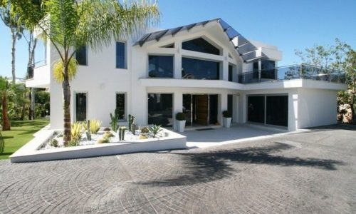Naranjos modern luxury homes front