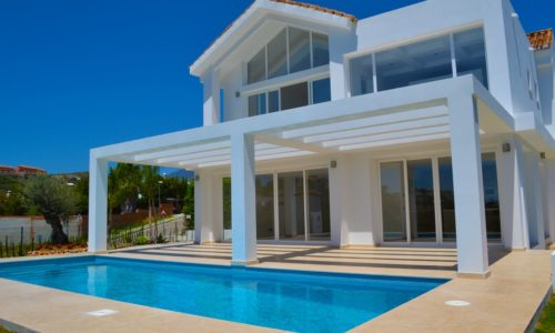 benahavis majestic modern homes for sale pool