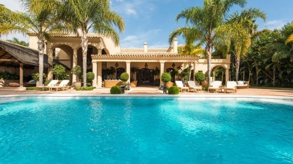 homes for sale with pool - monteros mansion 5