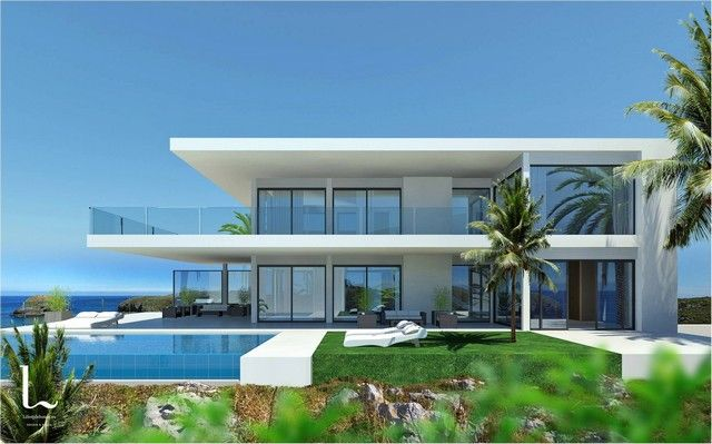 On Top Of That, A Newly Built Landscaped Garden With Private Swimming Pool  Is Also Included. Light, Extensive Views And Astonishing Modern Design Are  The ...
