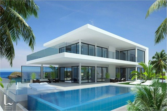 Magnificent modern homes for sale near marbella realista - Modern house with pool ...