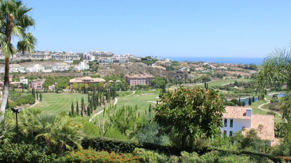 Benahavis golf view