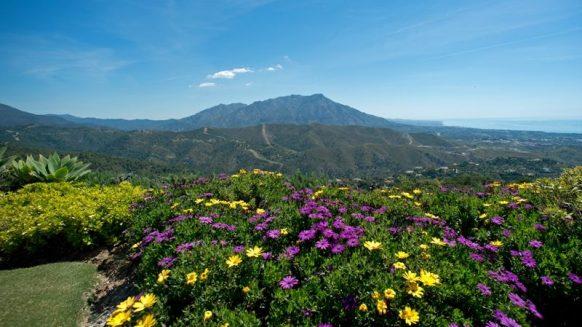 luxury villa Marbella mountain sea view 1