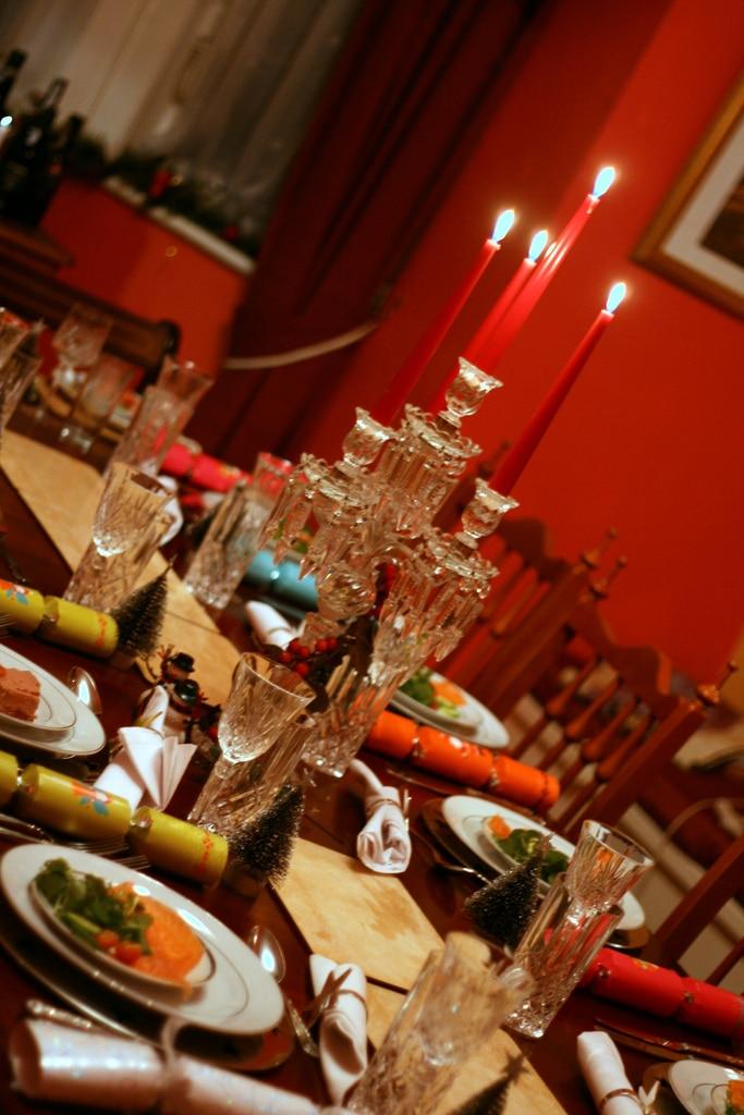 Christmas in marbella - family dinner