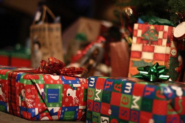 marbella shopping at christmas presents