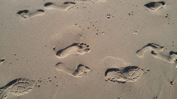 marbella 4 days walking 2015 sand