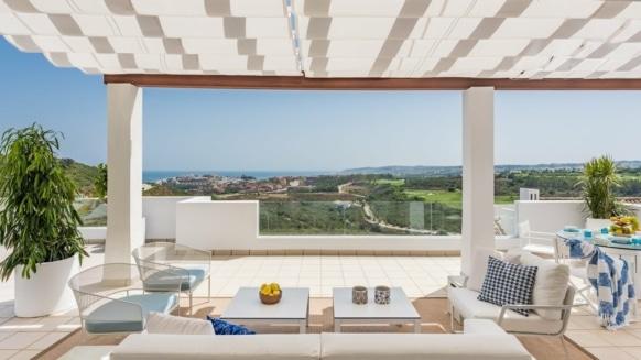 Finca Cortesin Penthouse_Terrace_Realista Quality Properties Marbella