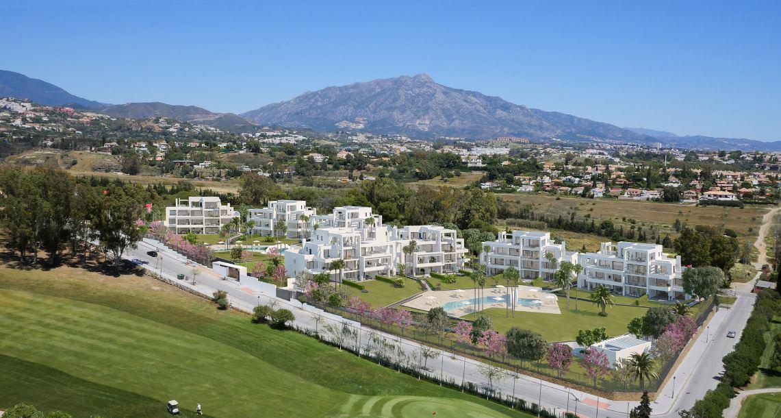 Modern three bedroom apartment for sale Benahavis near Marbella