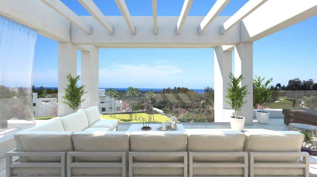 Las Terrazas de Atalaya modern penthouse near Marbella