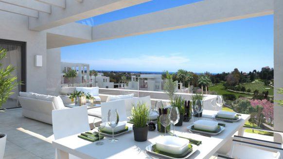 Las Terrazas de Atalaya_view from terrace_ Realista Quality Properties Marbella