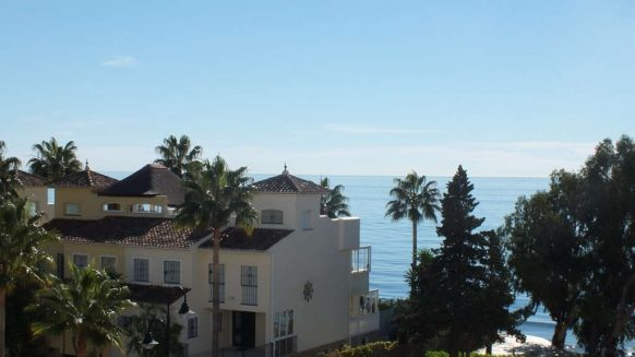 Bahia de la Plata front line beach Estepona_sea View from terrace_Realista Quality Properties Marbella