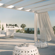 Belaire New modern project Estepona_TerraceII_Realista Quality Properties Marbella