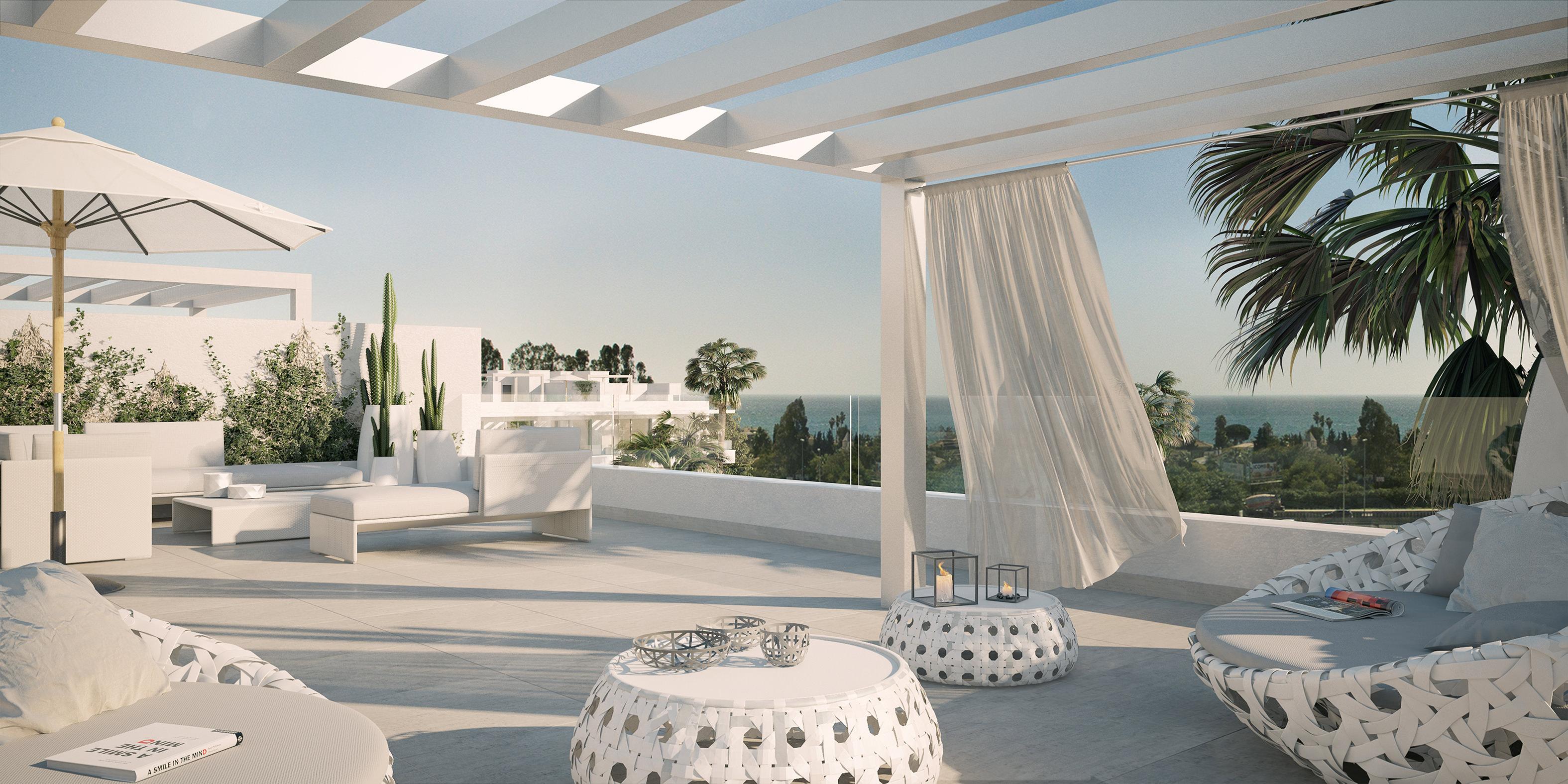 Belaire new development luxury 3 bedroom penthouse Estepona