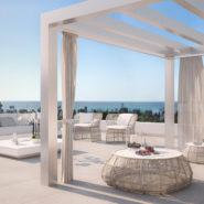 Belaire New modern project Estepona_Terrace_Realista Quality Properties Marbella