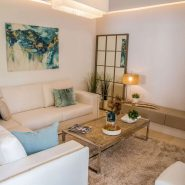 Botanic Los Arqueros new project_Living room II_Realista Quality Properties Marbella