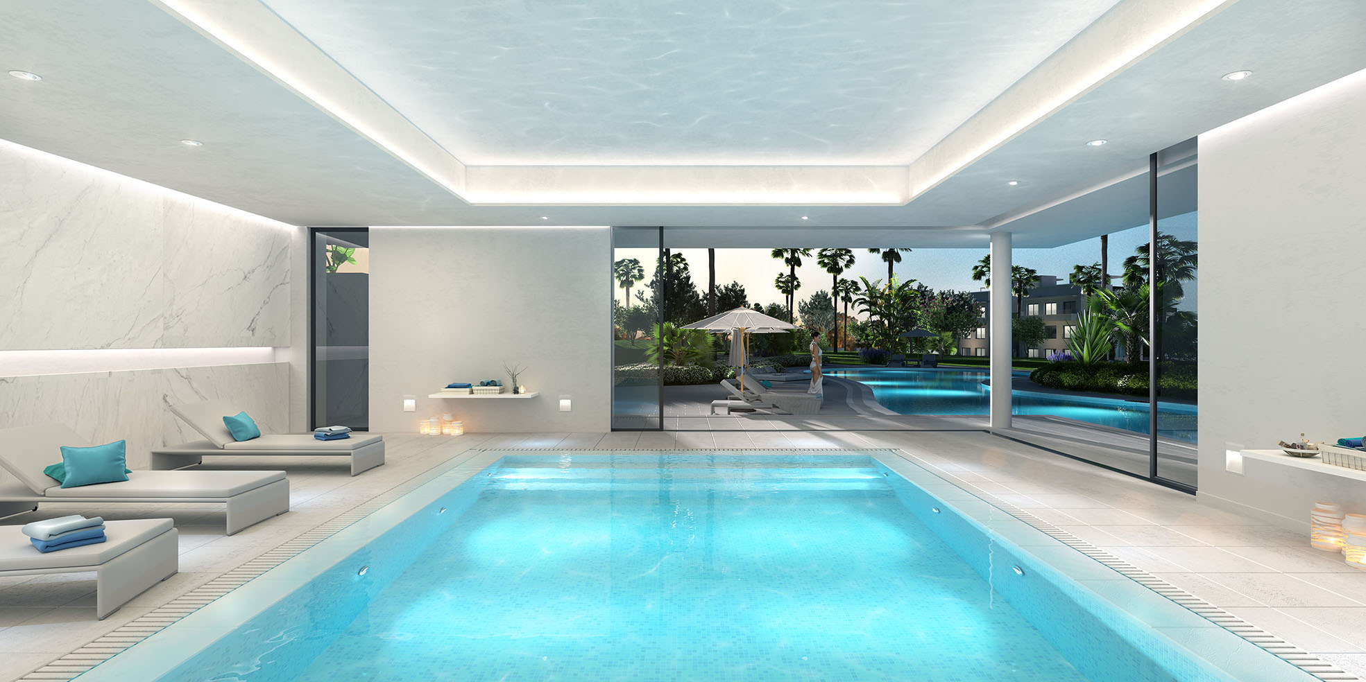 Cataleya estepona modern new development of apartments and for Pool apartments