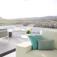 Cataleya off plan apartments for sale Estepona_Living room and terrace_Realista Quality Properties Marbella