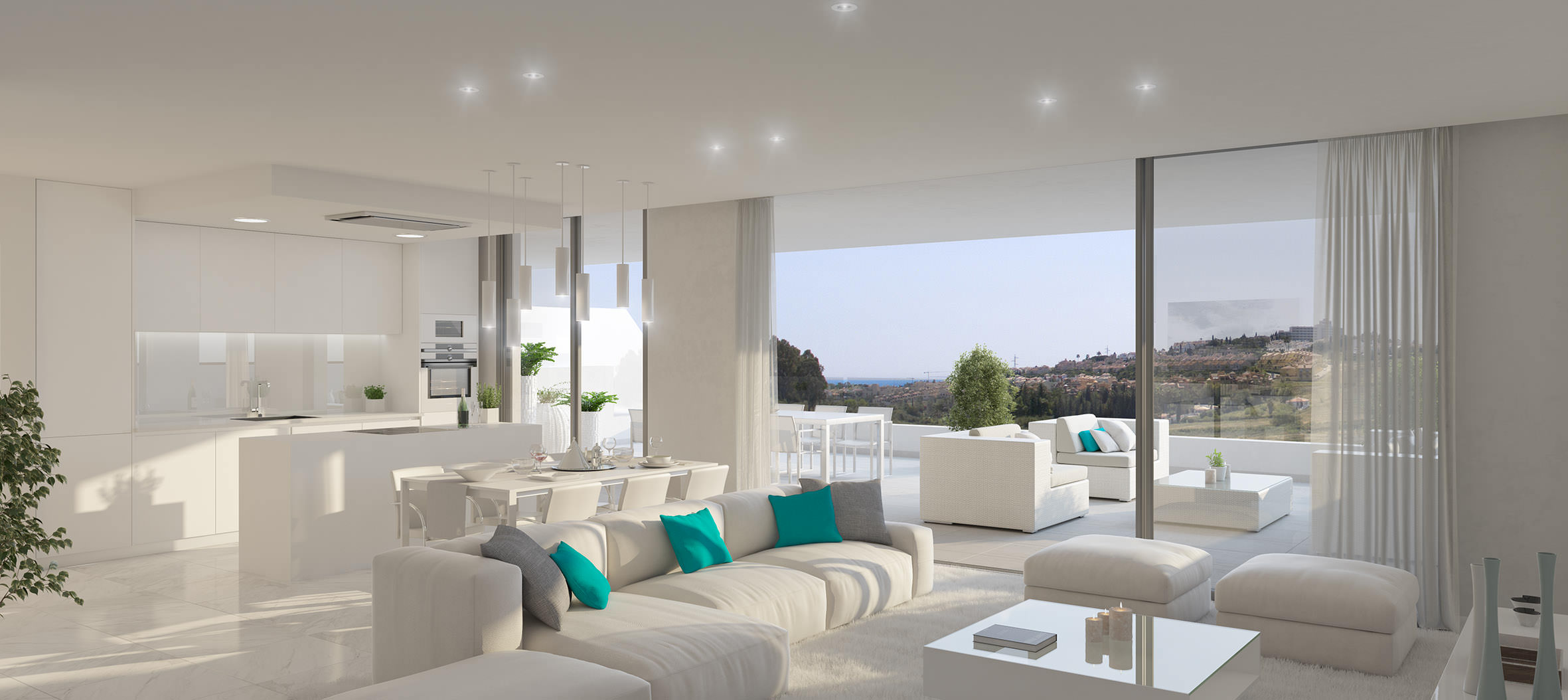 Cataleya estepona modern new development of apartments and for Apartment plans for sale
