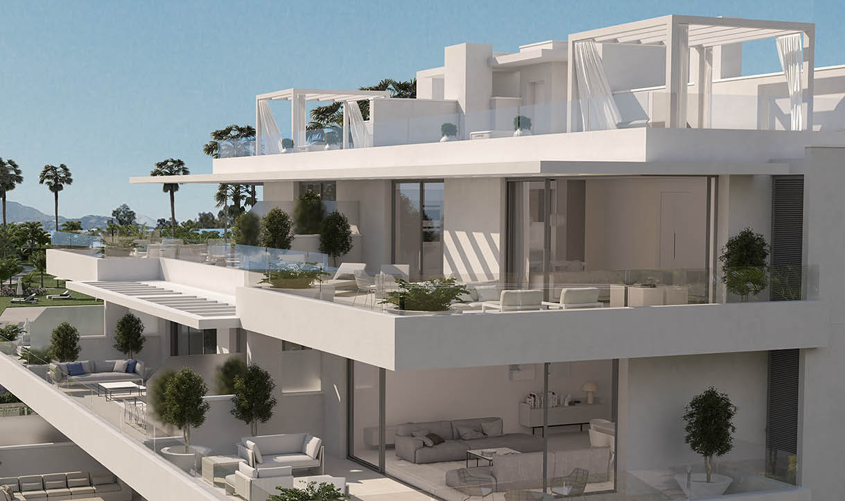 Cataleya Estepona apartment for sale new development Resale in phase 1
