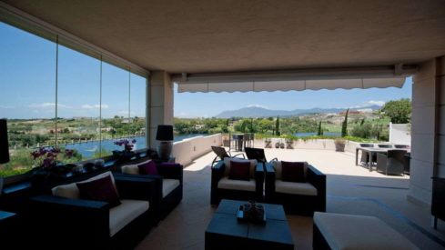 El Lago Los Flamingos Golf Resort apartment_Covered terrace_Realista Quality Properties Marbella
