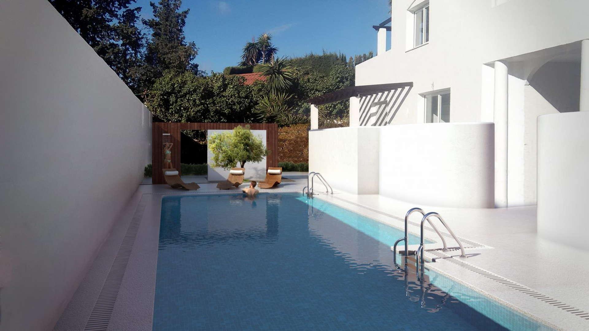 Apartment walking distance to Puerto Banus Marbella