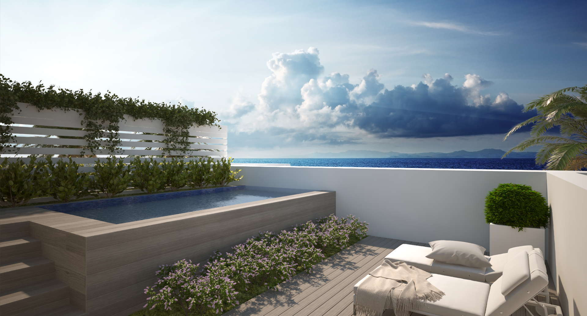 La Finca Town house for sale_swimmimg pool roof terrace_Realista Quality Properties Marbella