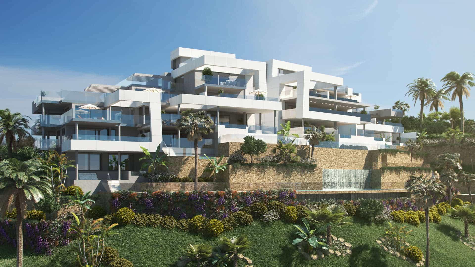 La Morelia de Marbella 4 bedroom apartment with private pool and views