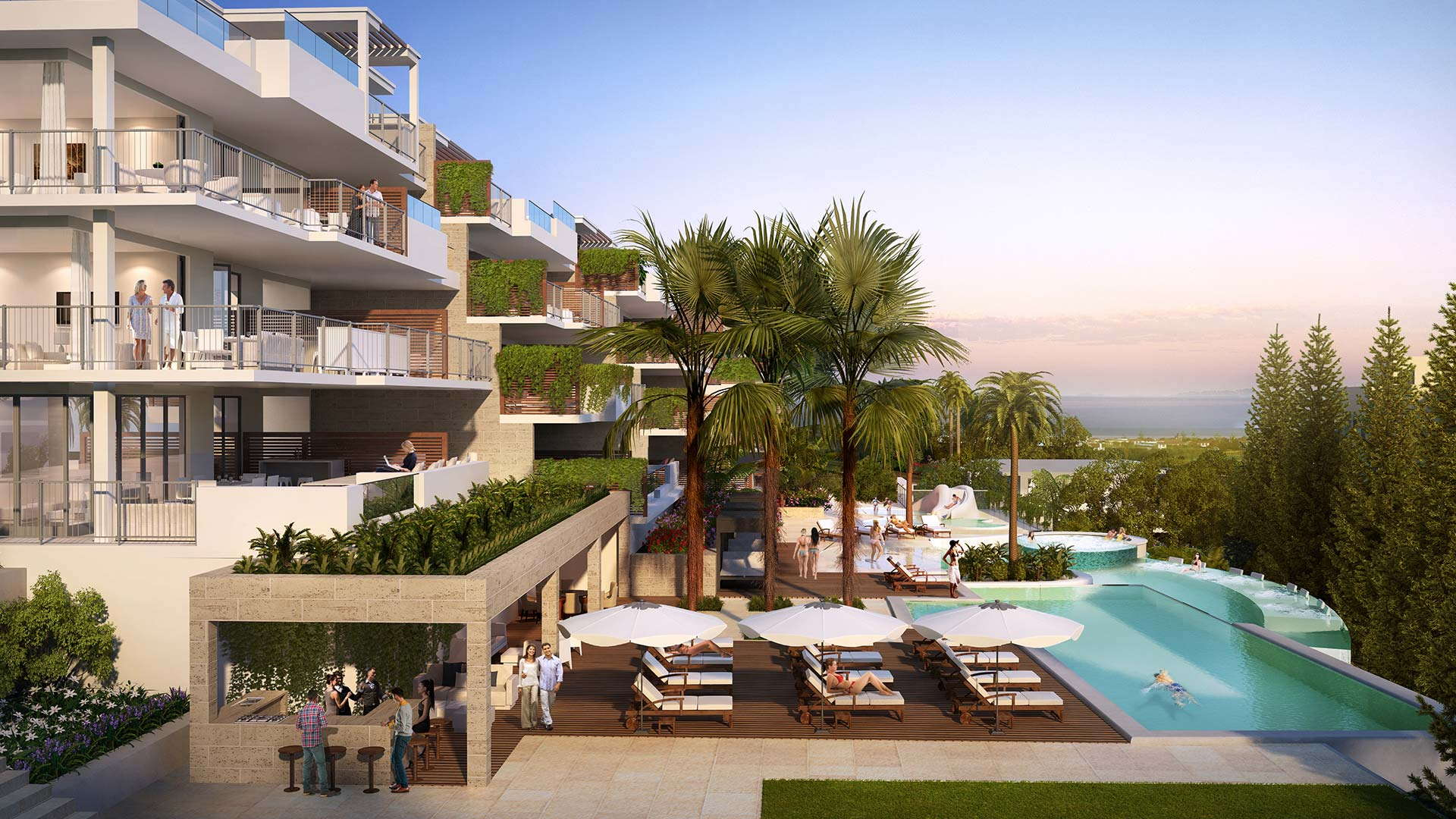 Lotus Jardinana new apartments and penthouses in Cala de Mijas ...