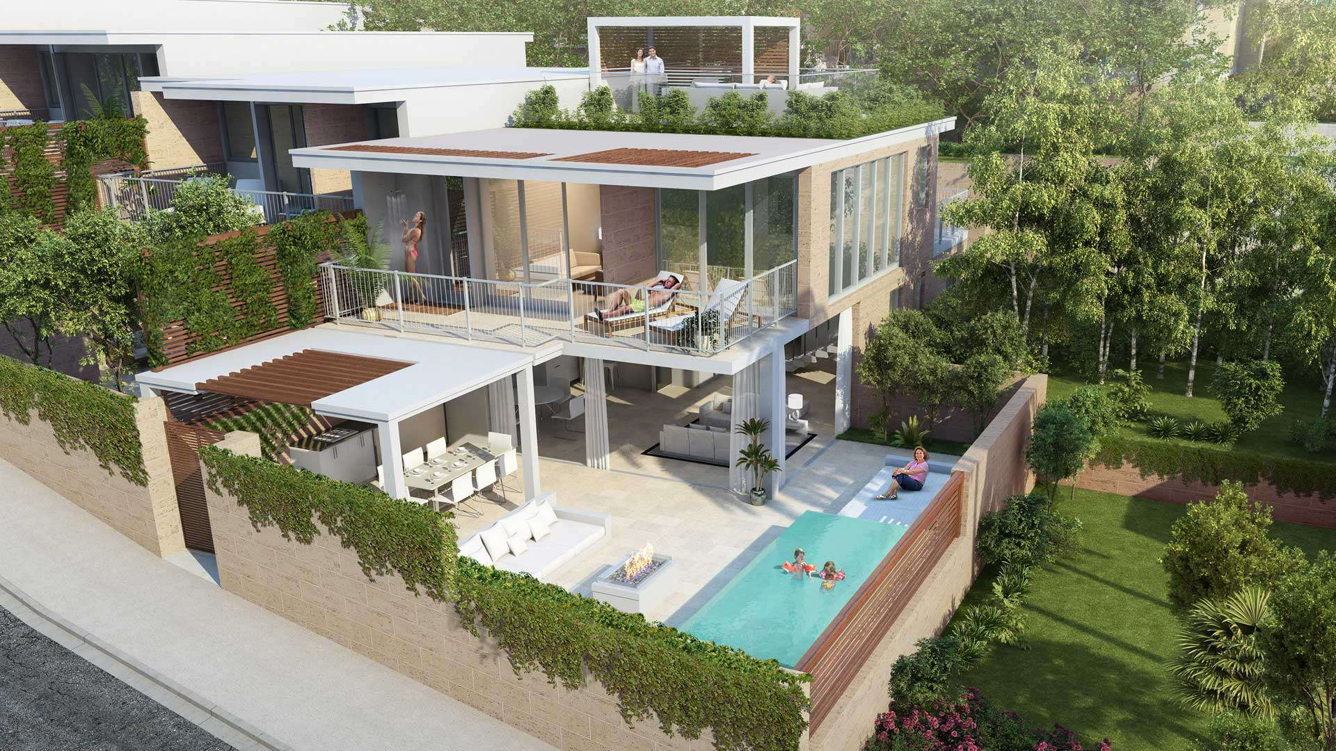 New off plan Contemporary villa with panoramic sea views Cala de Mijas