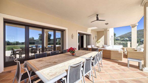Marbella Club Golf Resort Benahavis_terrace dining area_ Realista Quality Properties Marbella