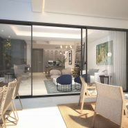 The Island Estepona_Living room and terrace_ Realista Quality Properties Marbella