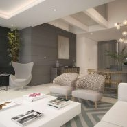 The Island Estepona_Living room with fire place_ Realista Quality Properties Marbella