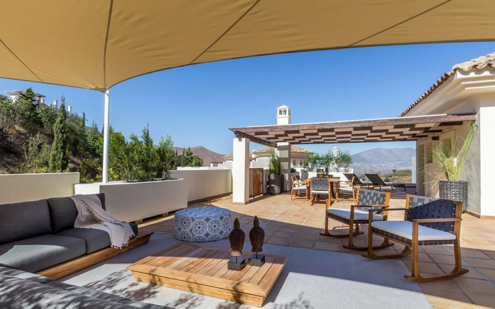 The Oakhill apartment in Sierra de las Nieves a UNESCO Biosphere Reserve near Marbella