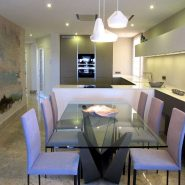 Casablanca Beach frontline beach _3 bedroom duplex penthouse_diningroom_Realista Quality Properties Marbella
