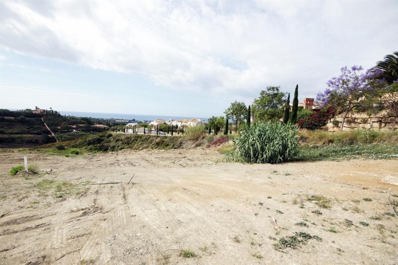 discount residential plot with sea view in Los Flamingos Golf Resort