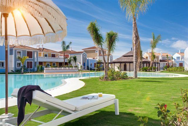 Cortijo del Mar Estepona_ ground floor 2 bedroom apartment_ Communal area_Realista Quality Properties Marbella