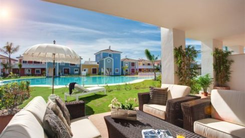 Cortijo del Mar Estepona_ ground floor 2 bedroom apartment_ terrace I _Realista Quality Properties Marbella