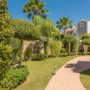 Cortijo del Mar Estepona_ ground floor 2 bedroom apartment_Communal grounds_ Realista Quality Properties Marbella