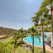 Las Lomas de la Quinta Benahavis_ground floor corner apartment for sale_View_Realista Quality Properties Marbella