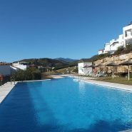 Los Robles_Los Arqueros_ Benahavis_Communal Pool view_Realista Quality Properties Marbella