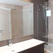 Los Robles_Los Arqueros_ Benahavis_Ground floor apartment master bathroom shower_Realista Quality Properties Marbella