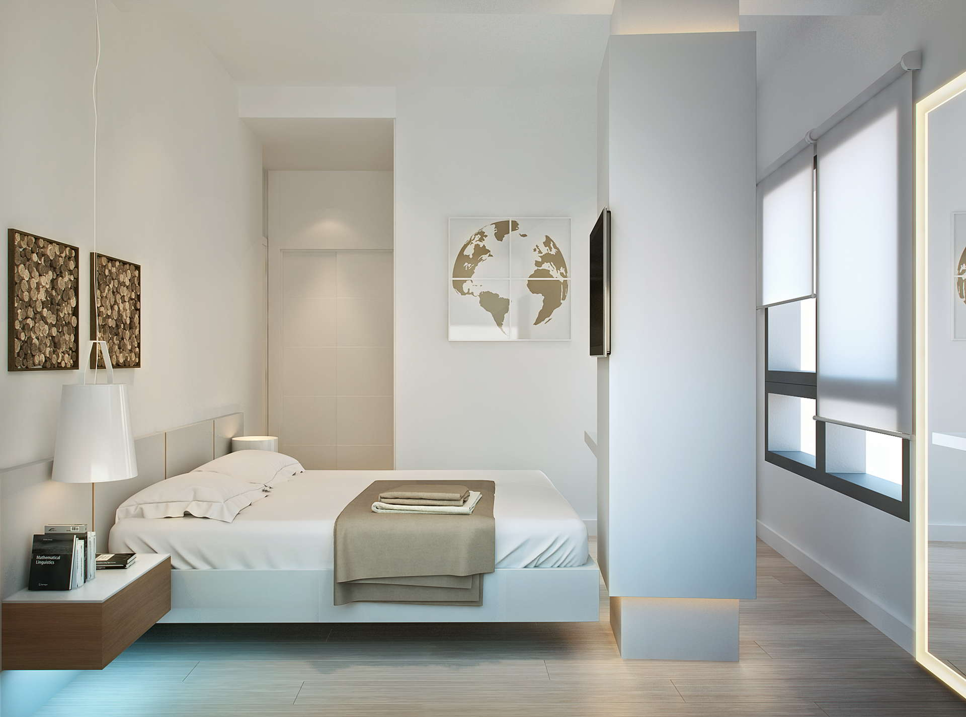 Modern malaga city centre apartment for sale realista for Modern 1 bedroom apartments