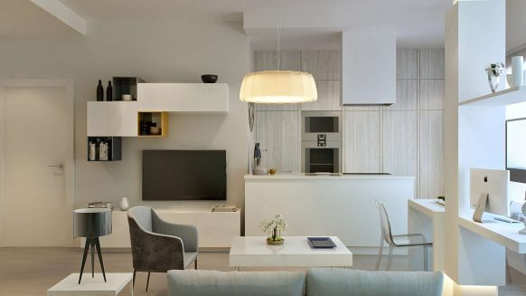 Malaga City Apartment_ 2 bedroom_livingroom VII_Realista Quality Properties Marbella