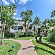 Marina Puente Romano_Duplex penthouse_Communal garden_realista Quality Properties Marbella