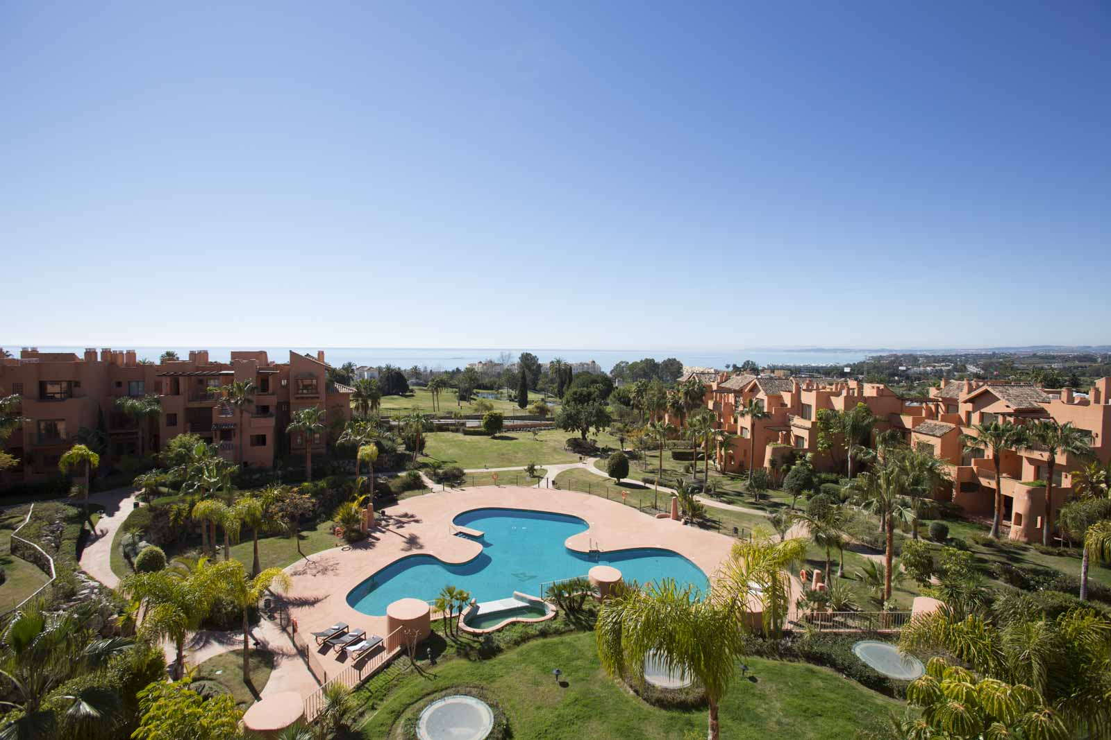 New two bedroom apartment with sea views in Estepona, Marbella